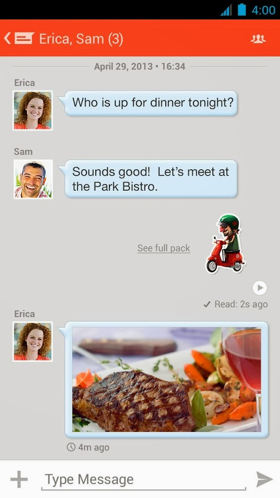 Messenger apk android 2 3 5