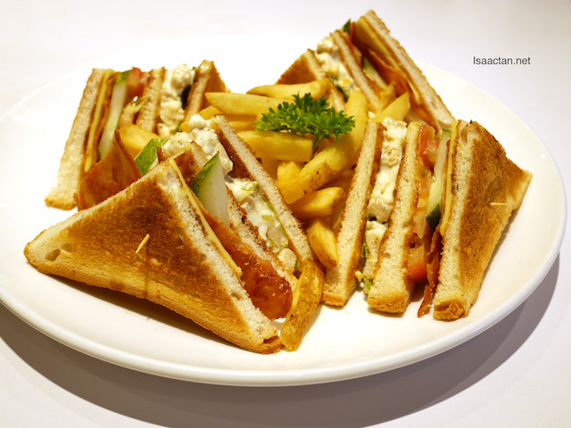 Club Sandwich - RM19.90