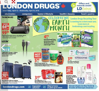 London Drugs Weekly Flyer April 19 – 25, 2018