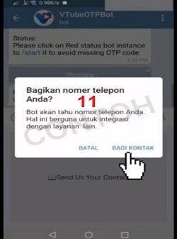 Daftar vtube telegram 11