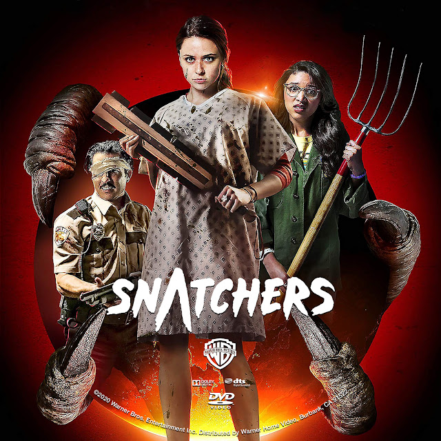 Snatchers DVD Label