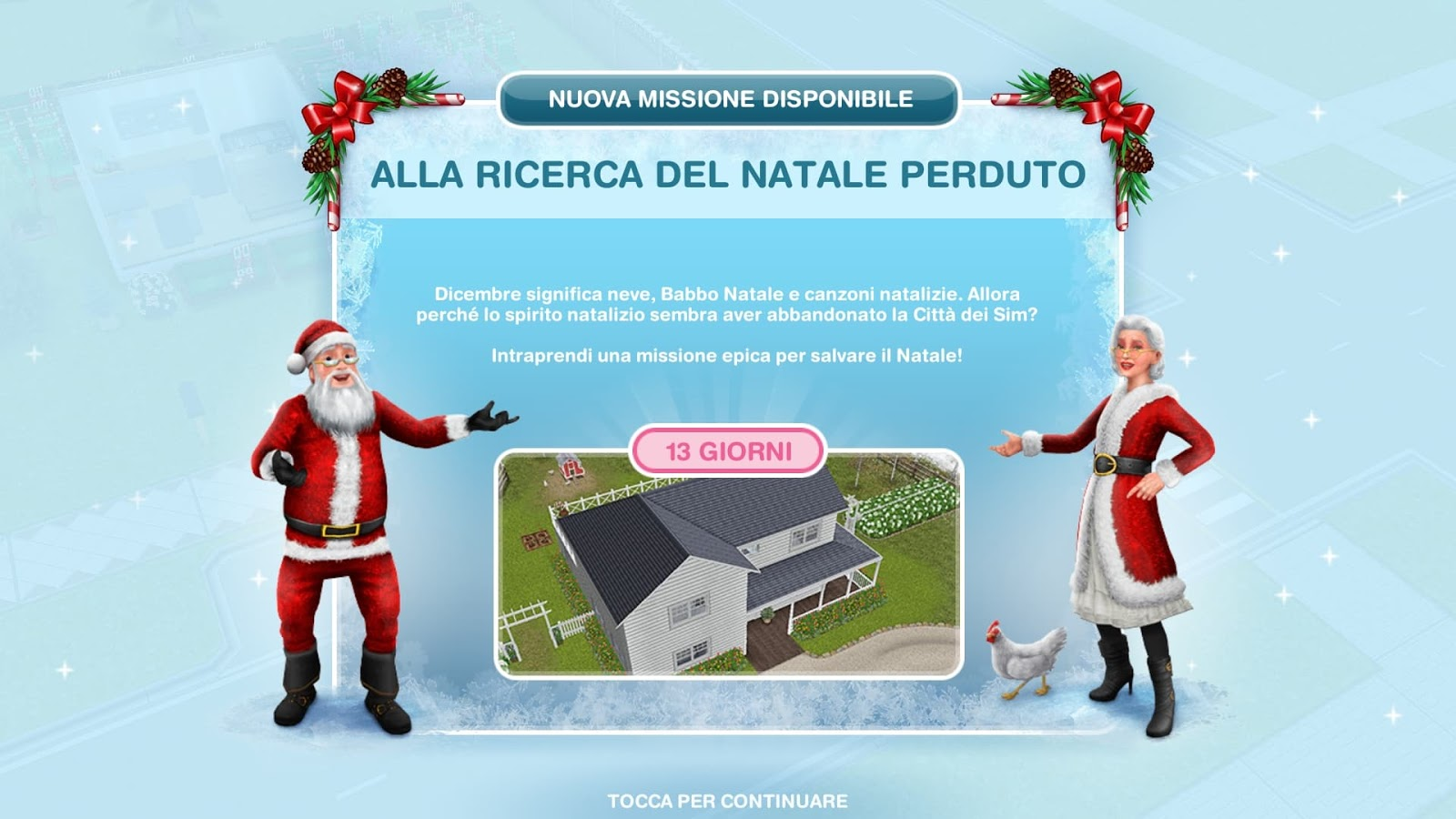 Addobbi Natalizi The Sims 3.The Sims Freeplay It Alla Ricerca Del Natale Perduto