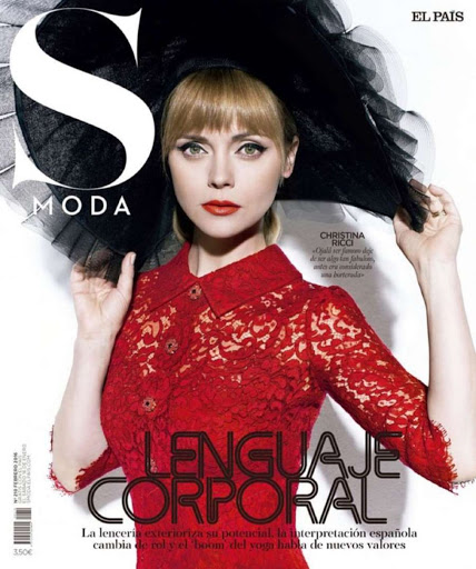 Christina Ricci – S Moda Magazine February 2016 cover