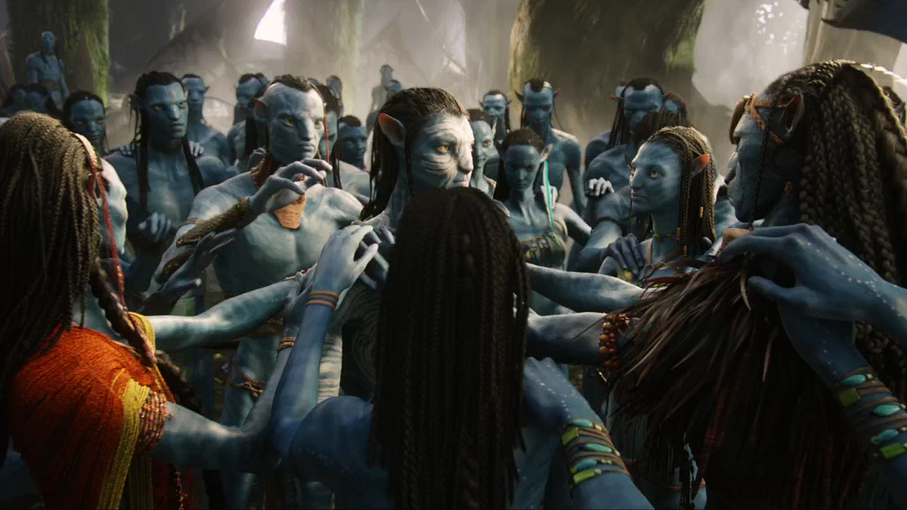 Avatar (2009) EXTENDIDA BRRip 720p Latino - Ingles captura 2