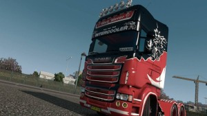 Black Warrior Skin for Scania RJL