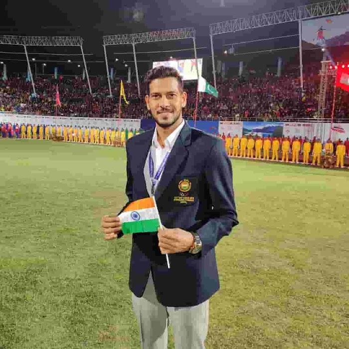 Indian Volleyball Player Vinit Kumar