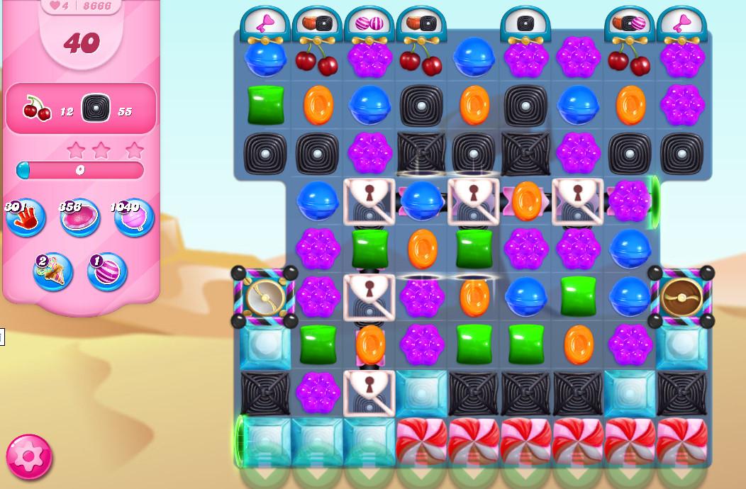 Candy Crush Saga level 8666