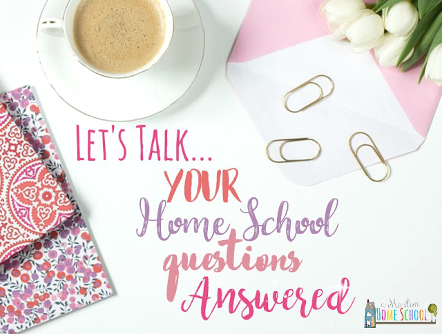 Your home school questions answered over on a Muslim Home School