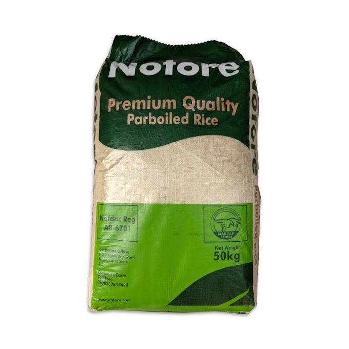 Notore Premium Quality Parboiled Rice 50kg