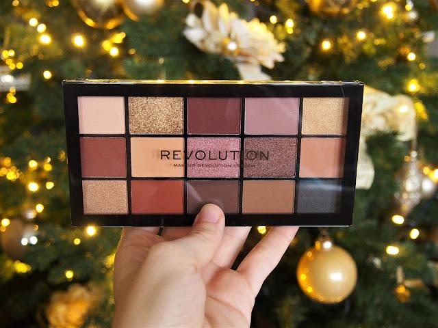 makeup revolution reloaded paletka velvet rose