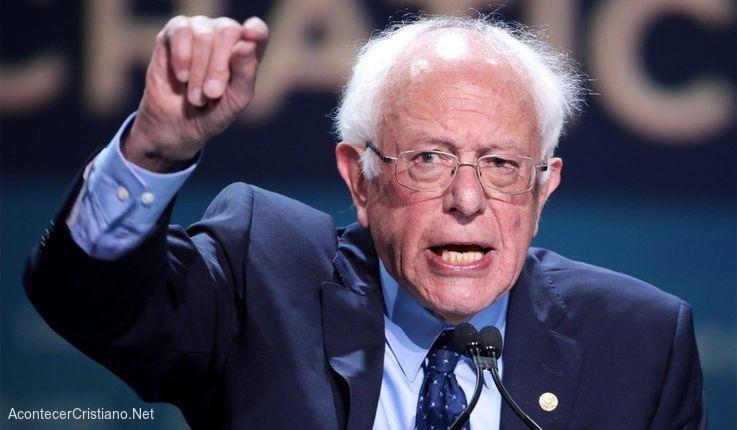 Senador pro aborto Bernie Sanders