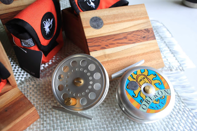 Tailor Made By V. Huttley - The Lucky 7 Oberon Fly Reels - Part 6