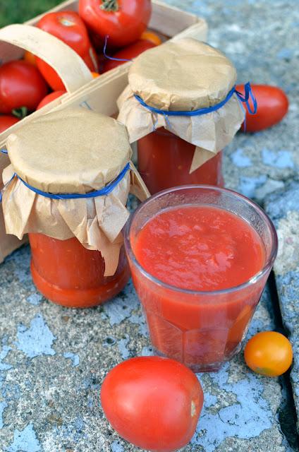 przecier%2Bpomidorowy Domowy przecier pomidorowy