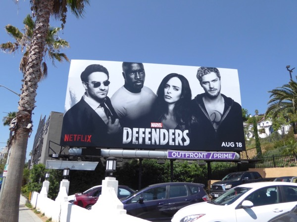 Defenders miniseries billboard
