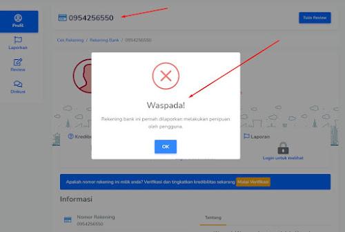 2 Cara Cek Nomor Rekening Penipu Secara Online, Agar Belanja Online Aman