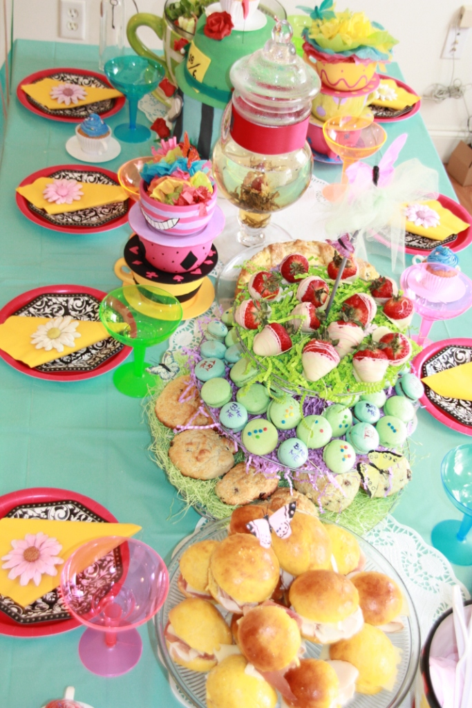 A Wonderland Of A Party Linda Kayes Partymakers