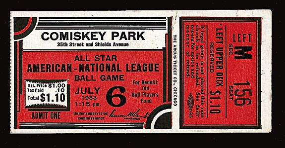 Image result for baseball's first all-star game in 1933 was in this ballpark