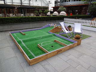 Tee Party Crazy Golf at Spinningfields in Manchester