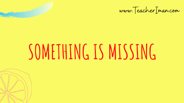 Arti Something is Missing