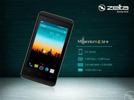 Zelta Millennium Q50+ Smartphone