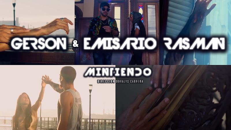 Gerson y Emisario Rasman - ¨Mintiendo¨ - Videoclip - Dirección: Doralys Cabrera. Portal del Vídeo Clip Cubano