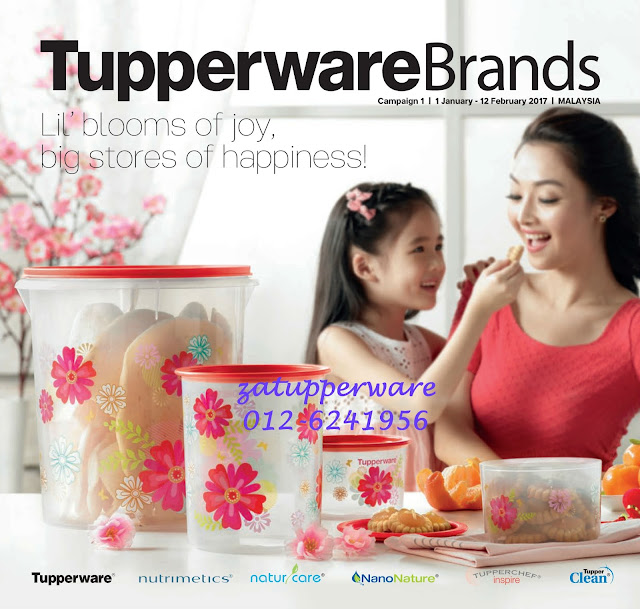 Tupperware Catalogue 1st January - 12th February 2017