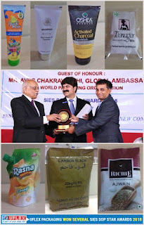 """Uflex Sweeps Away Seven Titles for Packaging Excellence at SIES SOP STAR AWARDS 2018""."