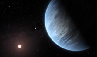 Cientistas encontram água em atmosfera de planeta potencialmente habitável fora do Sistema Solar
