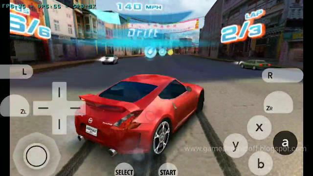 Asphalt 3D (Citra3DS Android) 200mb game Balapan seru Legend