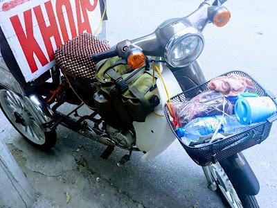 ベトナムのスーパーカブ