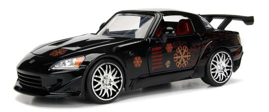 coleccion rapido y furioso, coleccion rapido y furioso jada tyos, coleccion rapido y furioso 1/32, Johnny's Honda S2000 (2001)