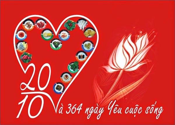 thiệp chúc mừng 20-10