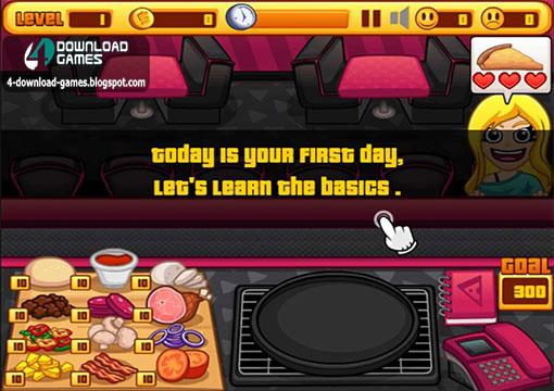 لعبة الطبخ Pizza Cafe