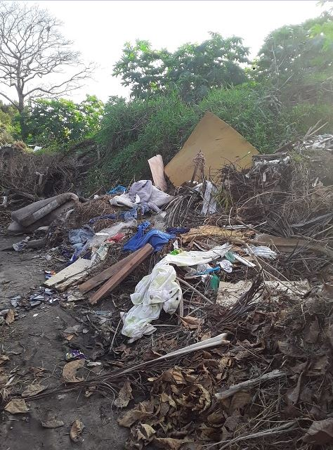 Polícia Ambiental surpreendeu duas pessoas depejando resíduos sólidos em Ilha Comprida