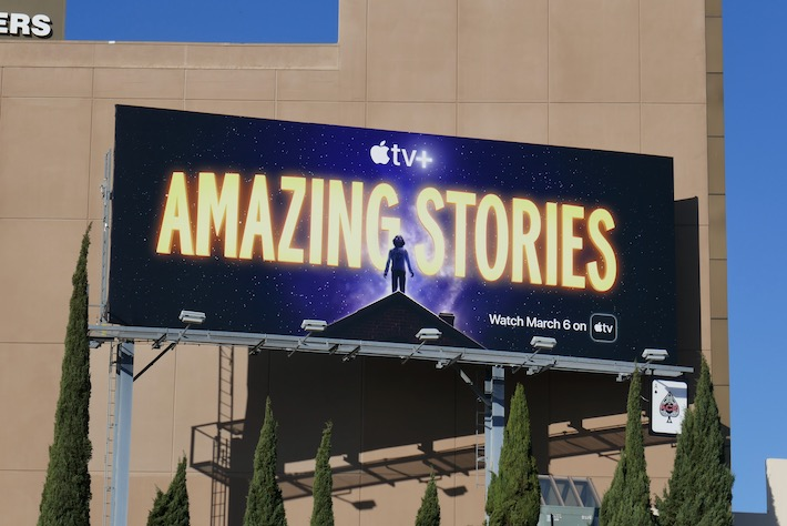 Amazing Stories Apple TV+ billboard