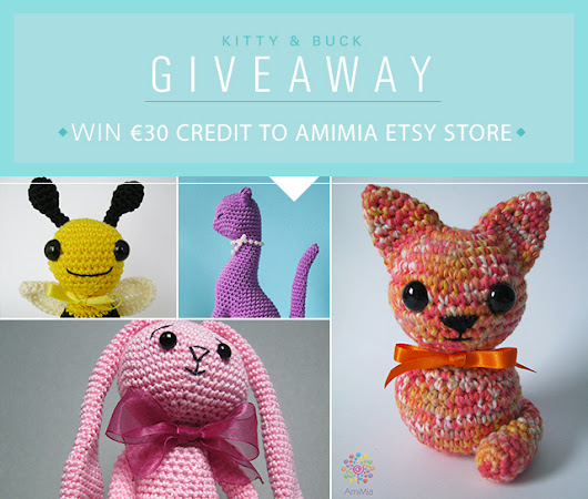 Giveaway with AmiMia! Win €30 to the AmiMia Etsy Store
