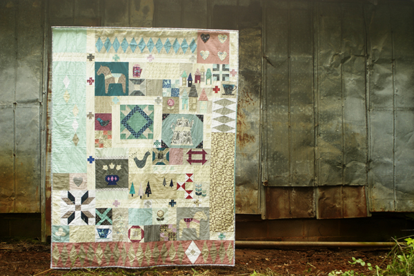 Stitched in Color Rachel Hauser Penny Sampler Quilt