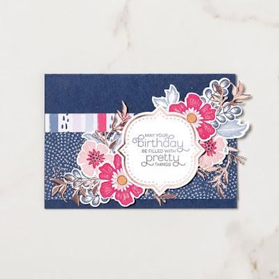 Karte Stampin Up Produkt-Medlay Alles Wunderbare