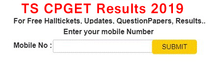 TS CPGET 2019 Results