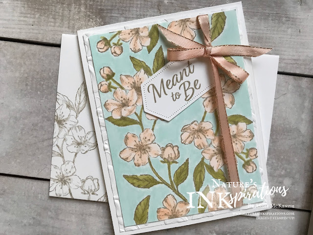 By Angie McKenzie for Kre8tors Christmas Blog Hop; Click READ or VISIT to go to my blog for details! Featuring the Forever Blossoms and Meant to Be stamp sets by Stampin' Up!;  #foreverblossomsstampset #meanttobestampset #stitchednestedlabelsdies #parisianflourish3dembossingfolder #lovecards #naturesinkspirations #coloringwithblends #stampinblendsmarkers #makingotherssmileonecreationatatime #cardtechniques #stampinup #handmadecards