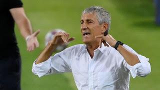 Barcelona coach Setien: I like the spirit we Showed against Napoli