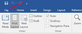 Cara Memunculkan Penggaris Ruler di Microsoft Word
