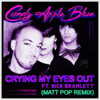 candy apple blue matt pop crying my eyes out cover art
