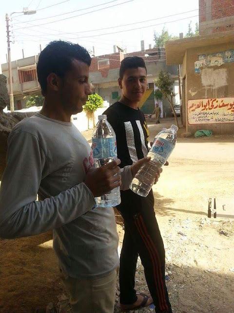 بالصور.. أهالي كفر سنبو بالغربية يستغيثون من تلوث مياه الشرب