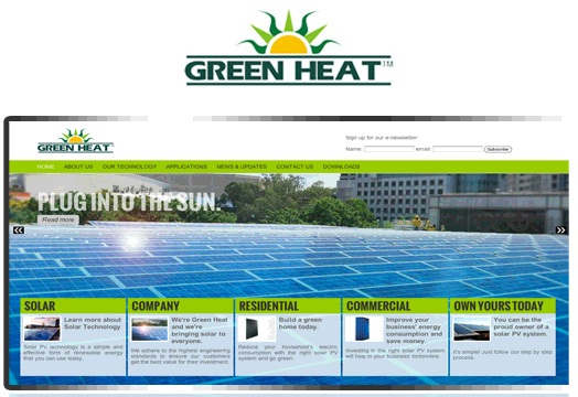 Green Heat Website