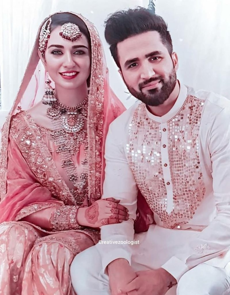 HD Nikkah Video of Sarah Khan and Falak Shabir's Wedding