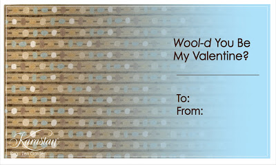 Karastan Carpet Valentines - Wool'd You Be My Valentine?