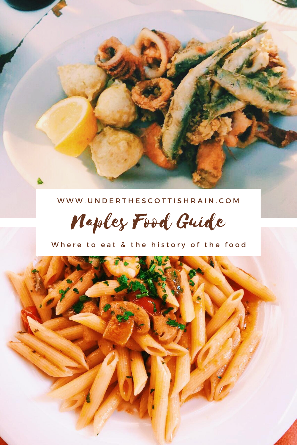 Pinterest Pin - Naples Food Guide