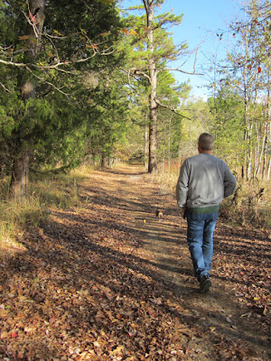 Trace State Park trail