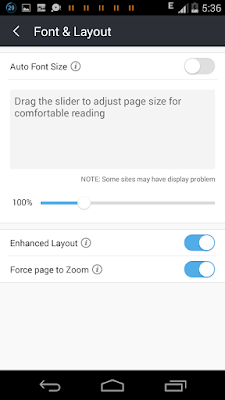 Tips Uc Browser 2017: 8  Change Font Size And Zoom A Webpage